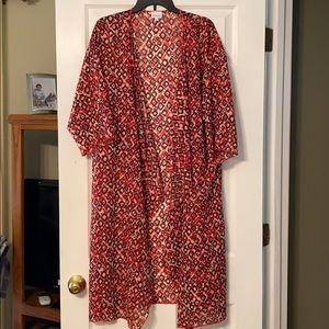 Lularoe Shirley Kimono Large